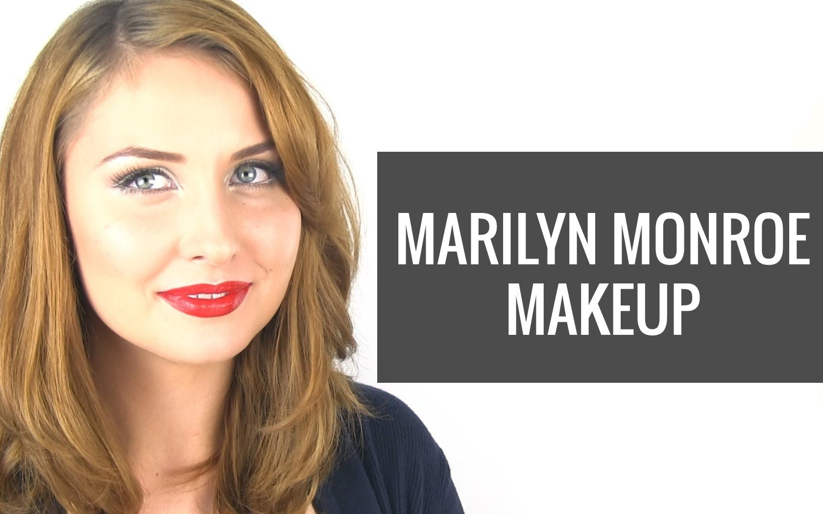 Marilyn Monroe Makeup 50s Hollywood Makeup Tutorial