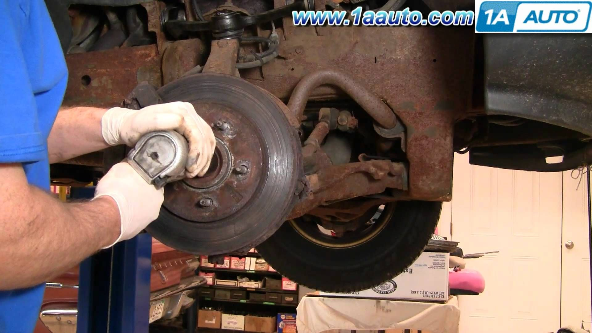 PART 1 How To Install Replace Lower Ball Joint 9703 Ford