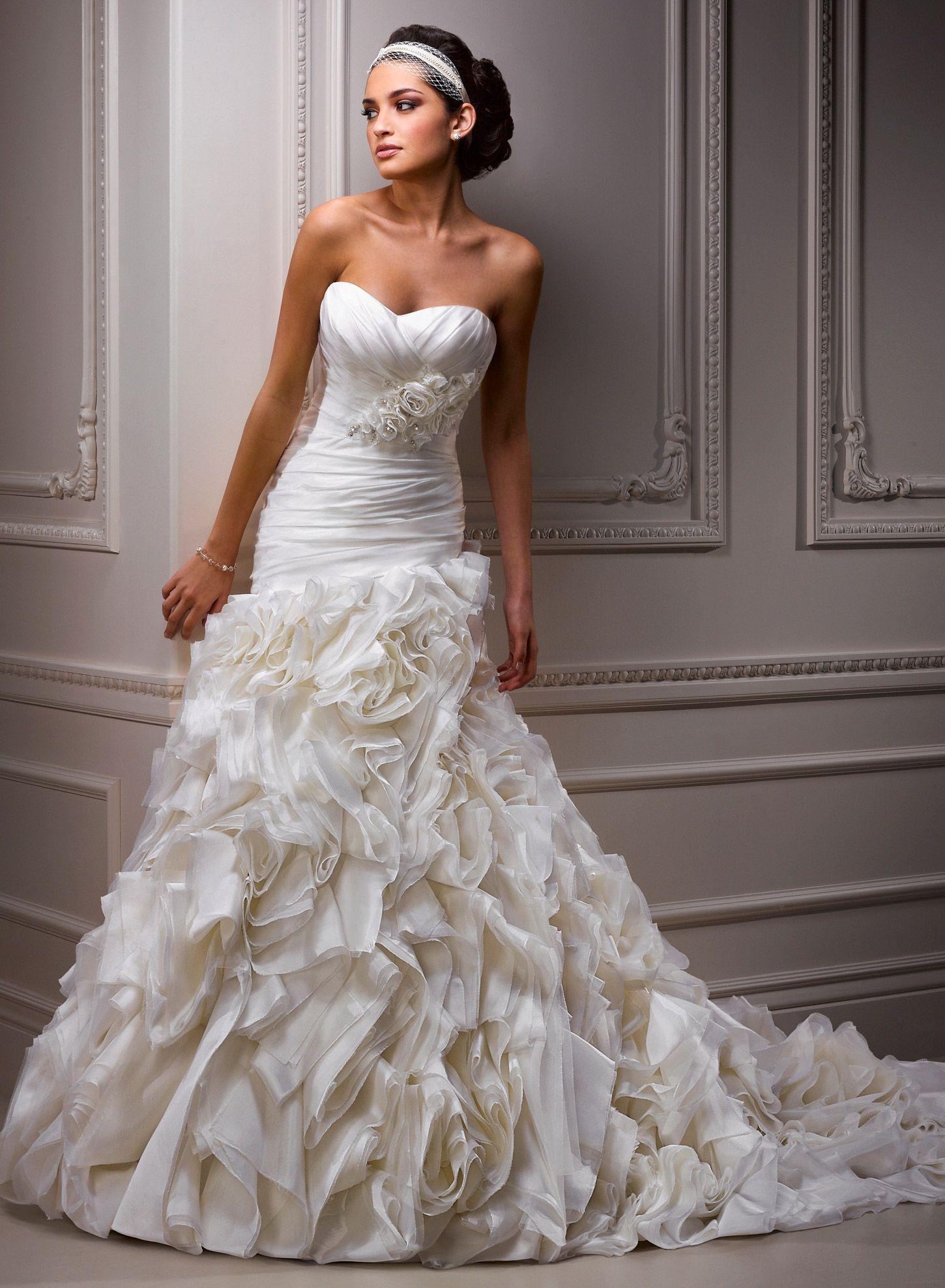 Maggie Sottero Alandra Size 2 Wedding Dress