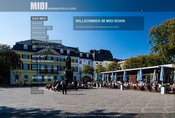 midi-bonn.de Relaunch 2012 online