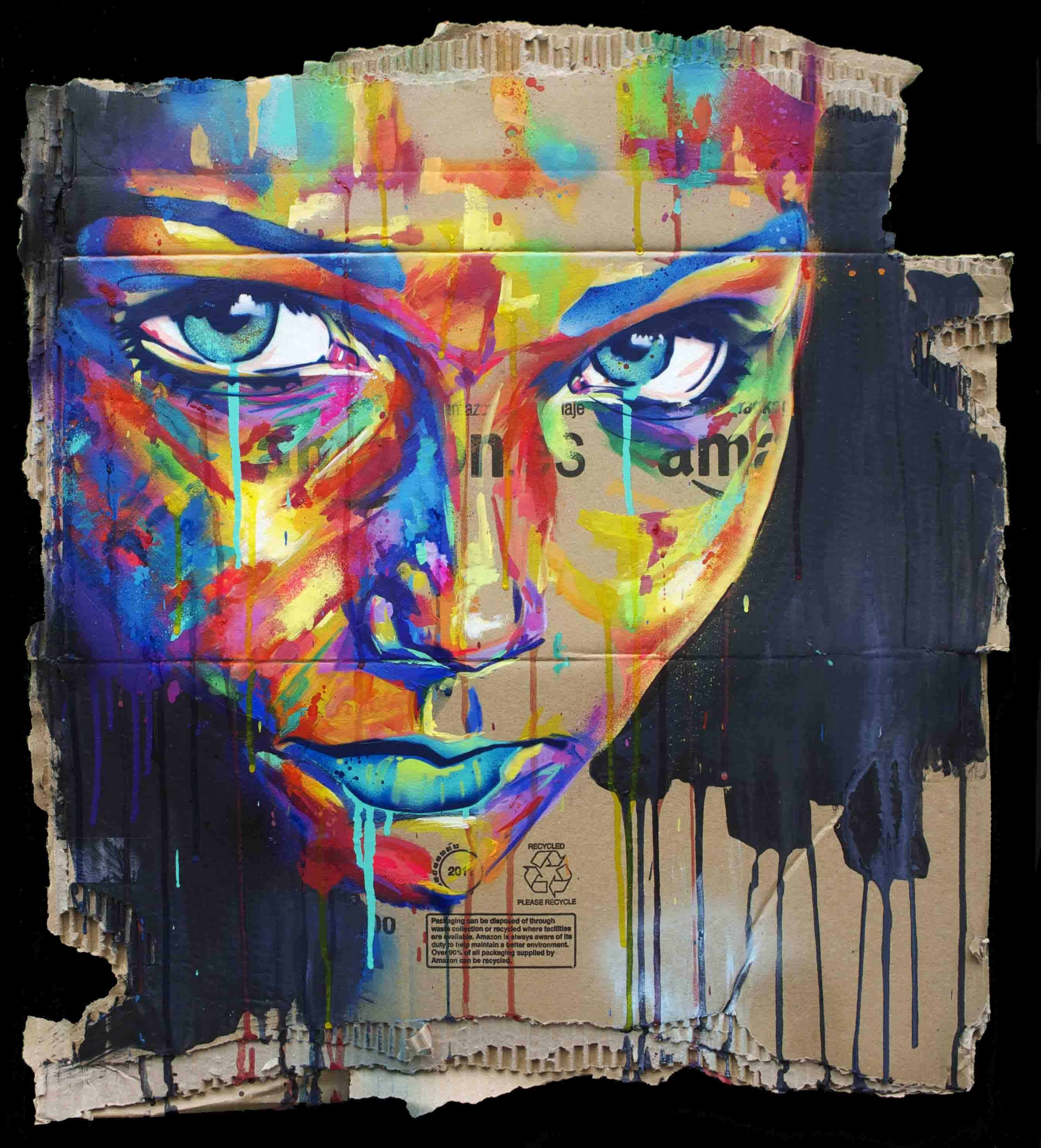 Insightful spray paint art spray painting painting art portrait images portraits