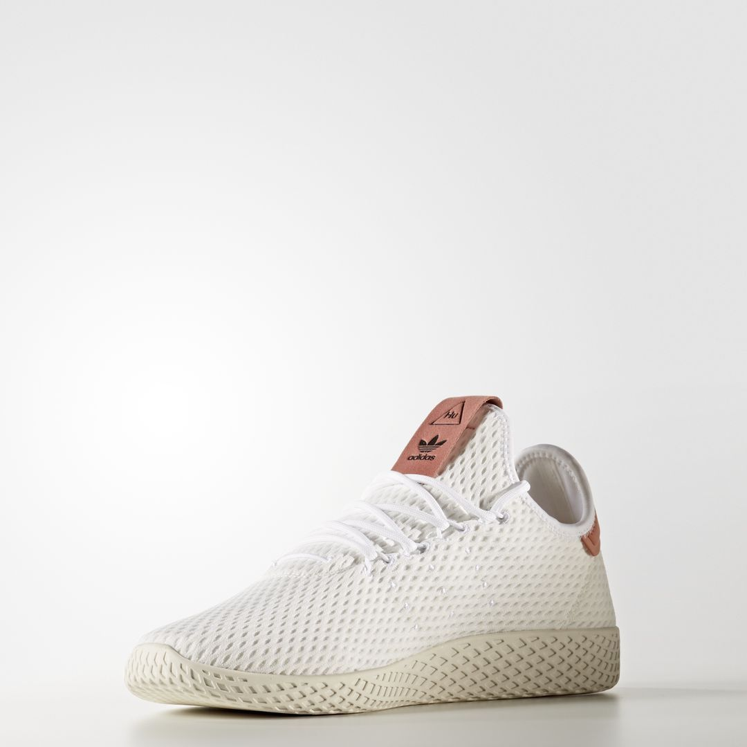 ad730523d Adidas x PW Tennis HU White   Raw Pink   CP9763   Mens Pharrell Williams  Knit
