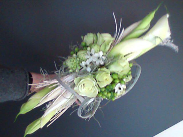 bruidsboeket - lang wit horizontaal falenopsis boechout