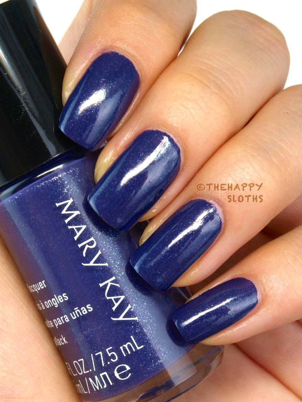 fall 2014 mary kay limited edition midnight jewels collection nail lacquer in sapphire noir