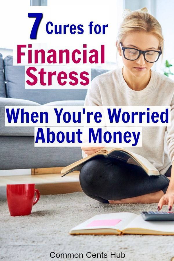 How to not stress about money is on the minds of a lot of people lately. These 7 tips will show you how to deal with stress about money. You can come out of the economic chaos even stronger by putting a few simple things into place. #budgeting #budget #printables #savingmoney #savingtip #commoncentshub #moneystress #financialstress