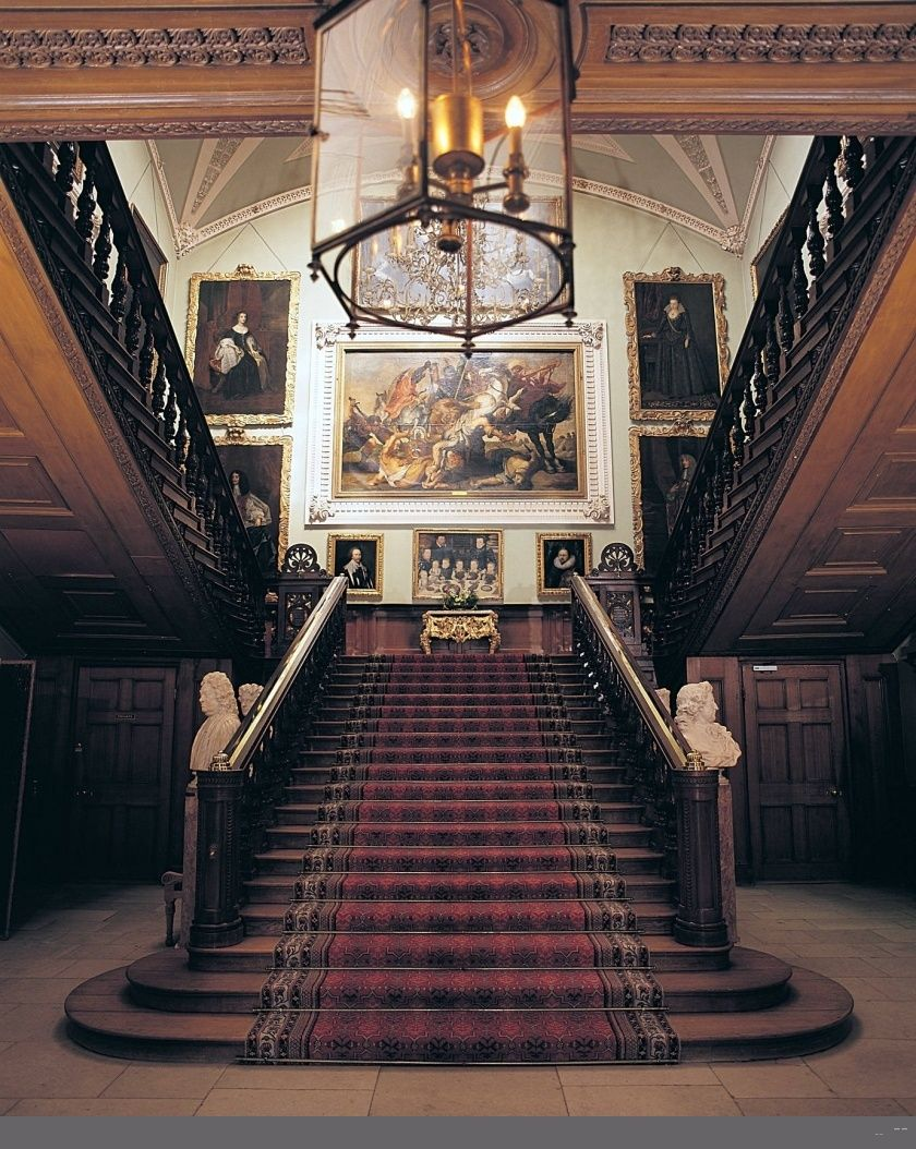 The Grand Staircase At Longleat House A Great
