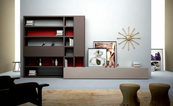 Wohnzimmermöbel - Tolle Wohnwand-Designs, die Sie inspirieren