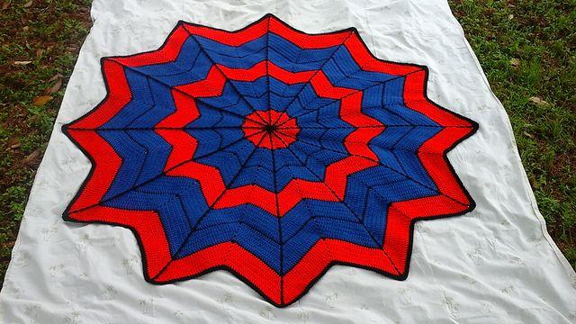 http://www.ravelry.com/projects/Spursfan/rainbow-ripple-baby-blanket-2