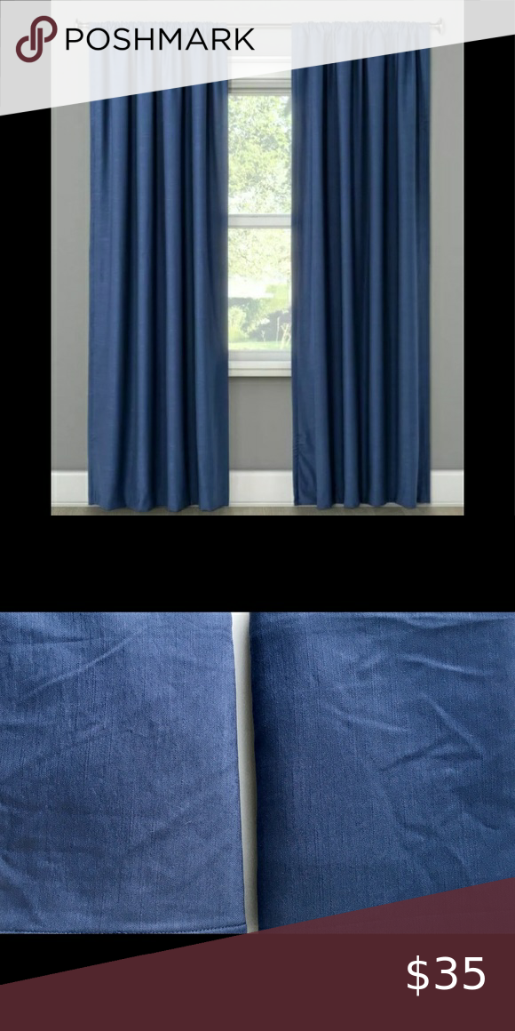 Project 62 Blue Henna Blackout Curtains In 2020 Blackout