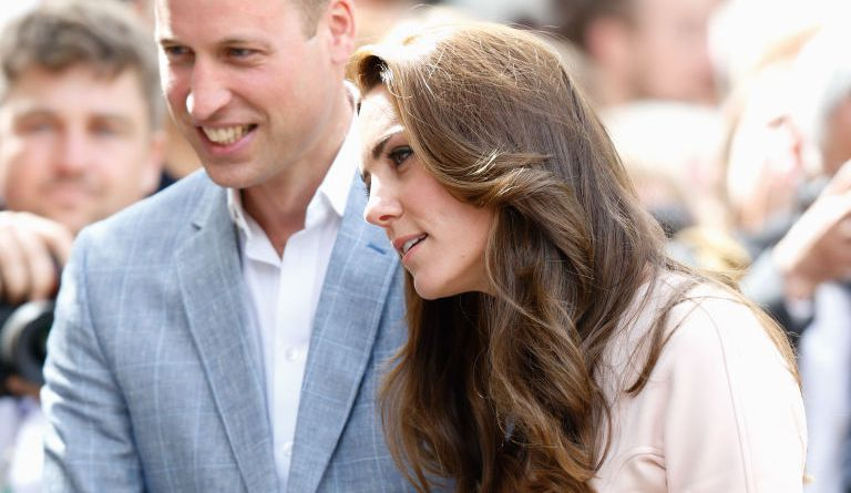 Prince William and Kate Middleton at Truro Cathedral