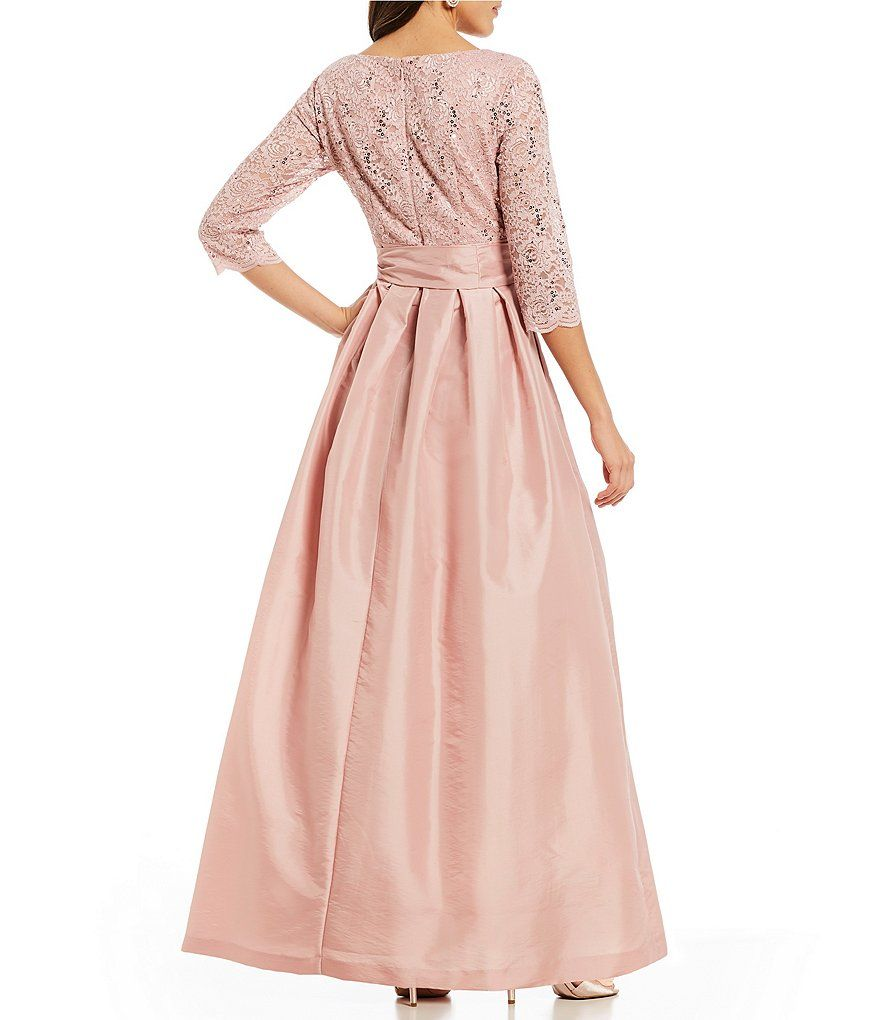 e95bef836c3 Shop for Jessica Howard Lace Bodice Bow Tie Front Gown at Dillards.com.  Visit Dillards.com to find clothing