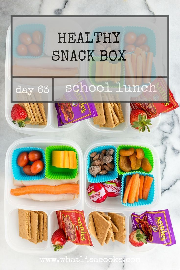 School Lunch Day 63: Simple snack boxes