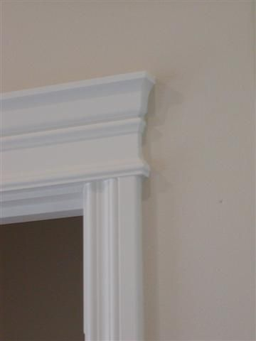 Door Trim A Little More Formal Wainscoting And Trim