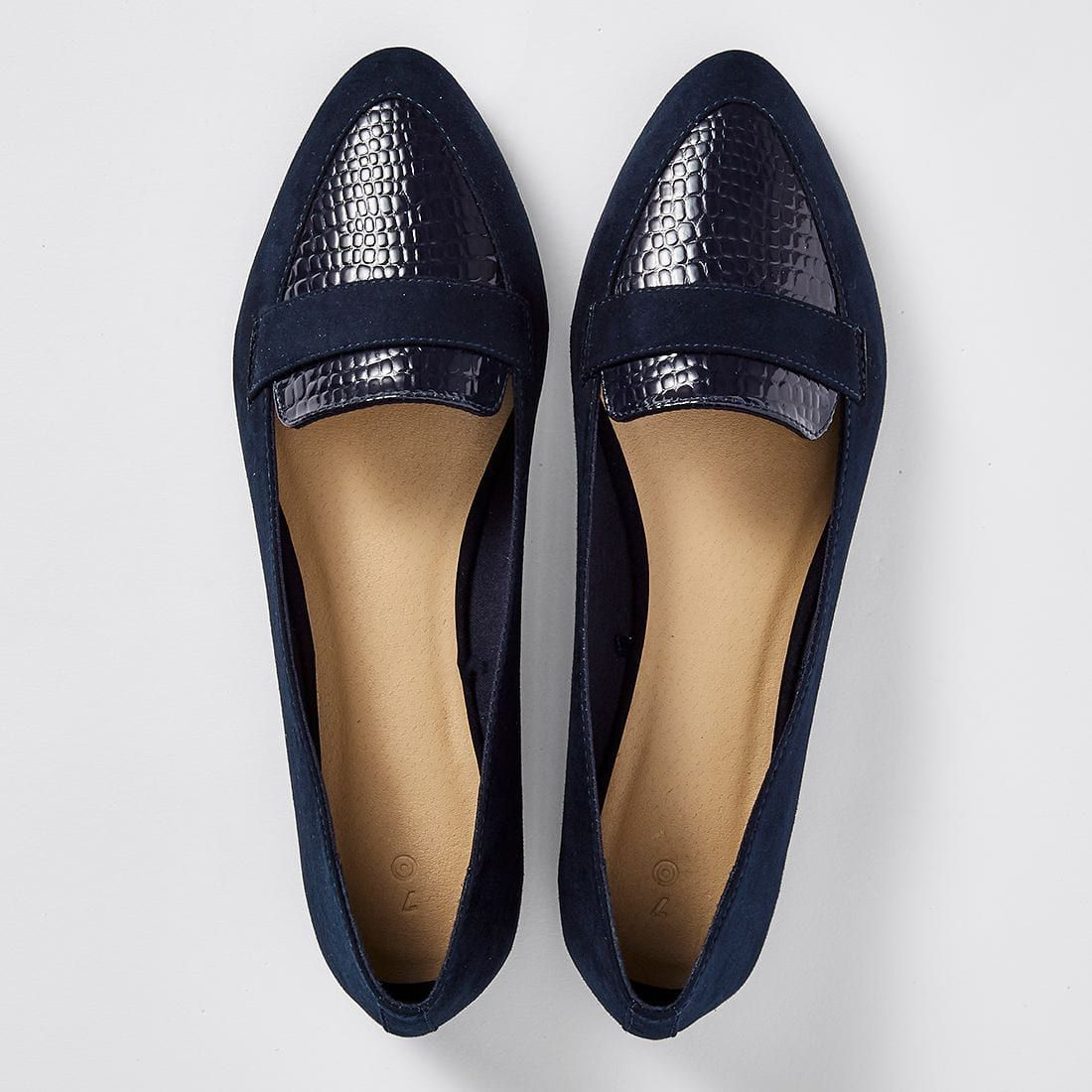 Felly Pointed Ballet Flats - Black