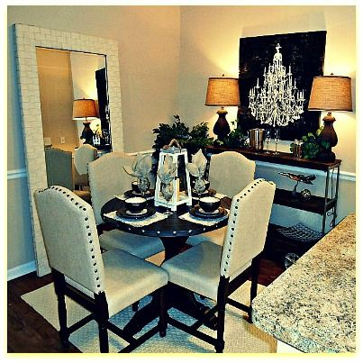 Love This Dining Room Set Up Done By Sealy Furniture Outlet