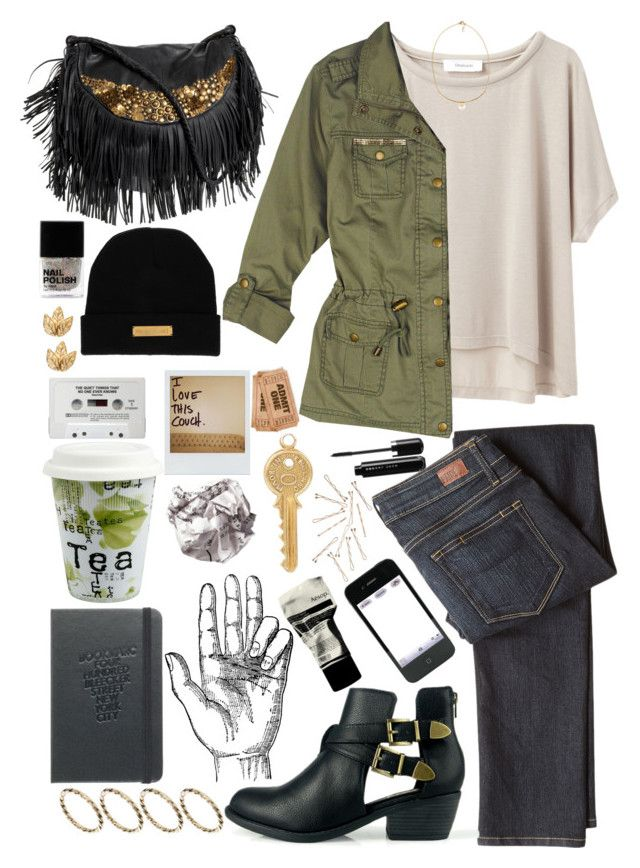 """Untitled #1357"" by wtf-towear ❤ liked on Polyvore featuring Grey Line By Hussein Chalayan, Paige Denim, Antik Batik, H&M, Marie Marot, Chloé, ASOS, Könitz, Aesop and Polaroid"