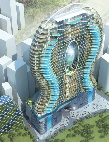 Mumbai India Luxury Apartments With Swimming Pools On The Balconies