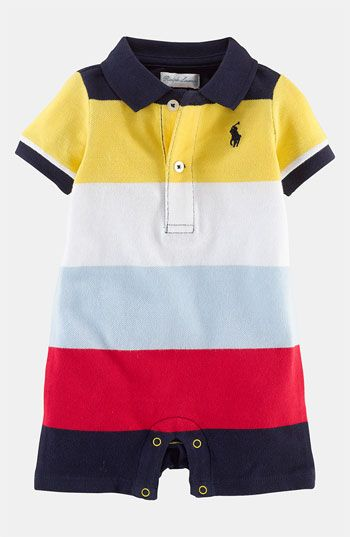 378e7cd75135 Ralph Lauren Polo Romper (Infant)
