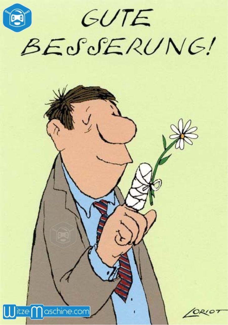 Gute Besserung Gips Finger Mit Blume Krank Sein Pinterest