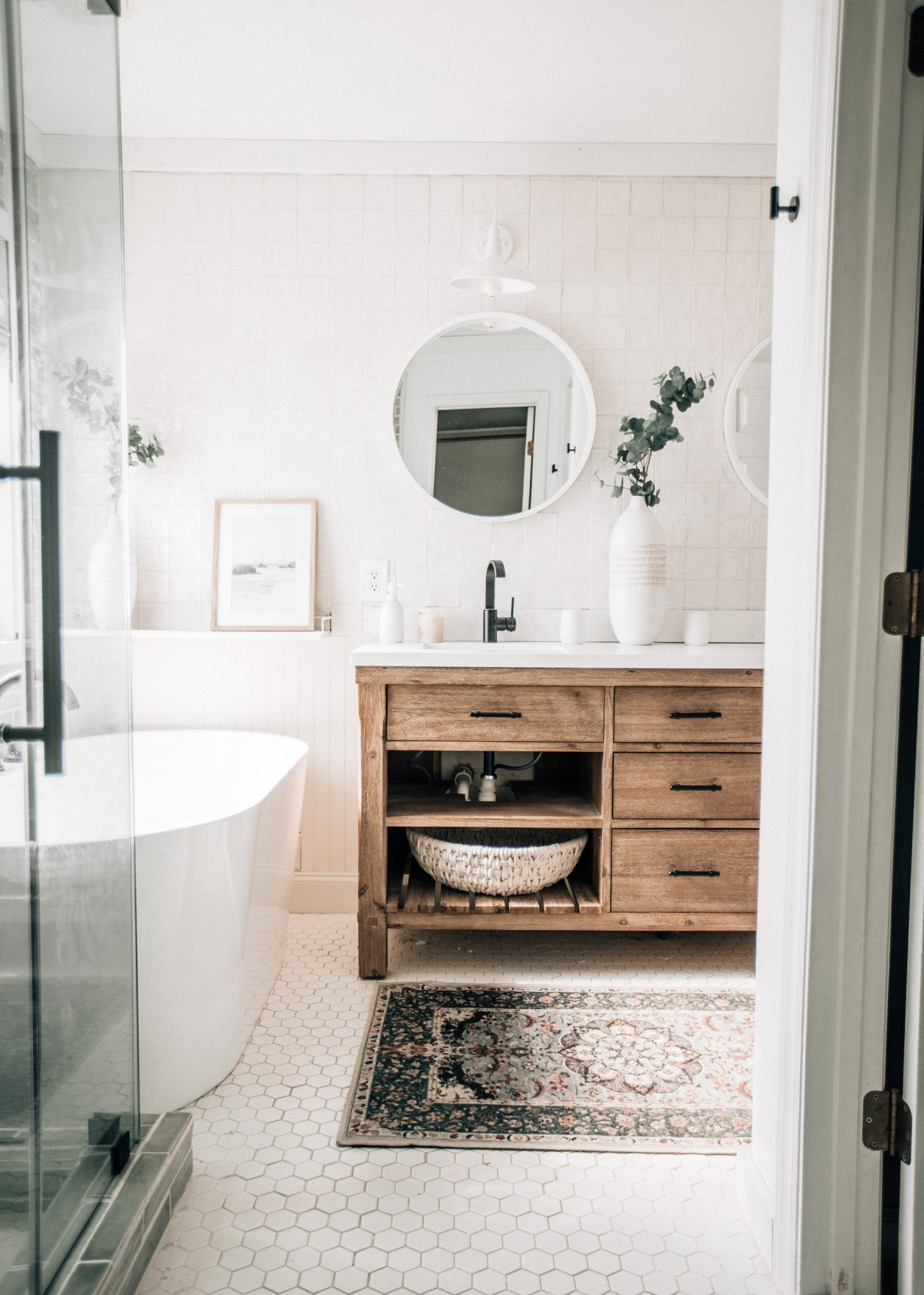 Photo of Our Master Bathroom Makeover – Pretty in the Pines, North Carolina Lifestyle and Fashion Blog
