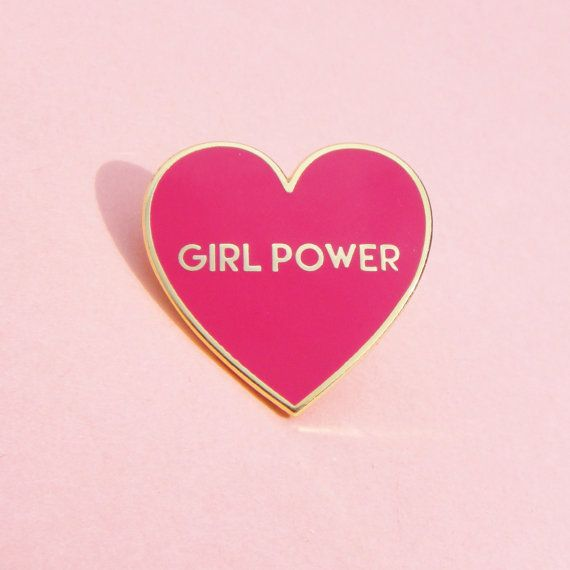 Since the patch sold out so fast, here is the GIRL POWER cloisonne pin! Made out of shiny gold brass and colorful enamels. It measures 3 x 3 cm.