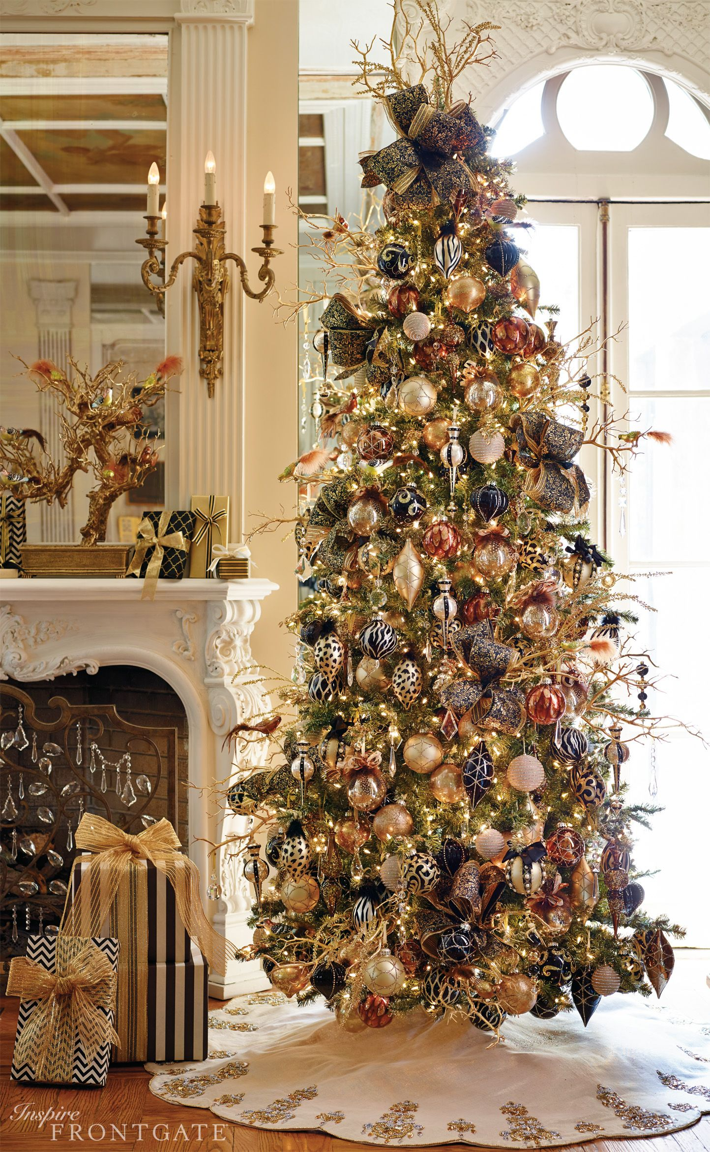 I L O V E 3 This Tree This Year I Will Decorate With Wild Abandon Beautiful Christmas Trees Holiday Christmas Tree Holiday Decor