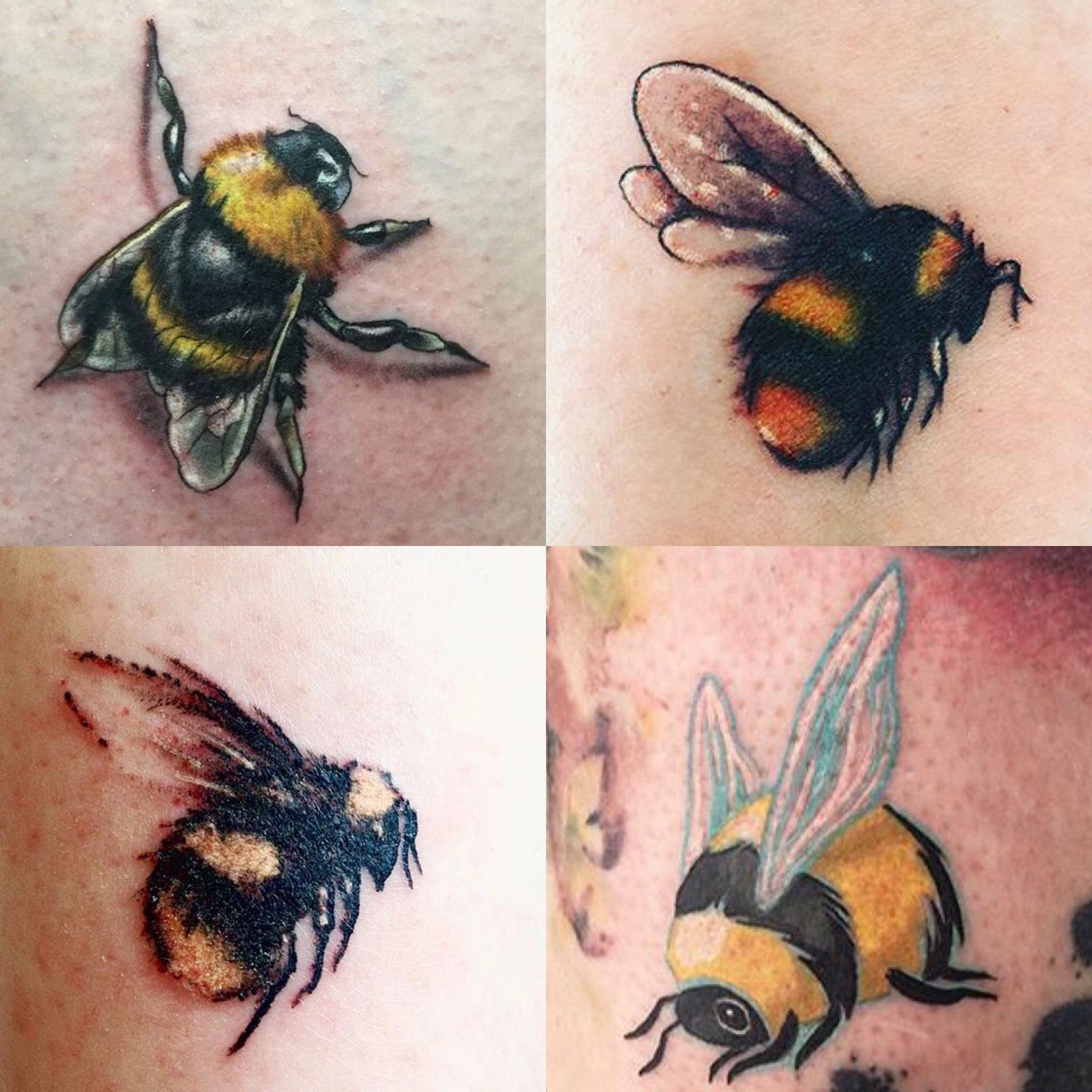 Bee Behind My Ear On Neck Bee Tattoo Bumble Bee Tattoo Insect Tattoo