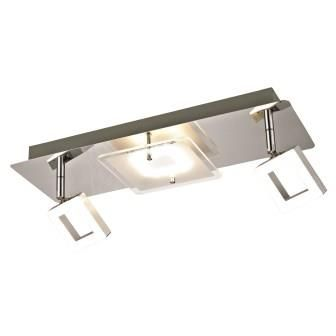laurie lumi¨re luminaire plafonnier 3 points lumineux LED dont 2