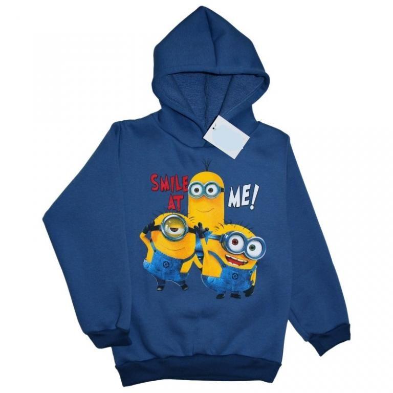 Bluza Minionki Polska 122 Niebieski Cieplutka 5728479410 Oficjalne Archiwum Allegro Sweatshirts Sweaters Hoodies