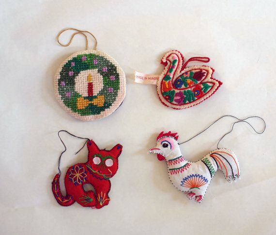 This listing is for four ornaments and it is such a fun mix! If you would prefer just part of this listing I can certainly adjust it. Simply