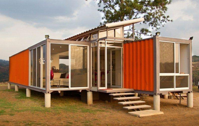 Uberlegen Container Haus Designideen