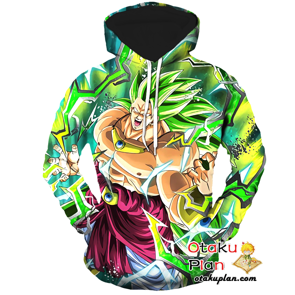 80cf300dcb78 DBZ Recurring Nightmare Super Saiyan 3 Broly Hoodie - Dragon Ball Z 3D  Hoodies And Clothing #stuff #animeart #merchandise #comic #animeboy #anime  # ...