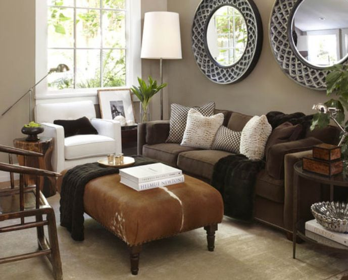 25 Beautiful Living Room Ideas For Your Manufactured Home Mobile Home Living Brown Couch Living Room Living Room Colors Couch Design