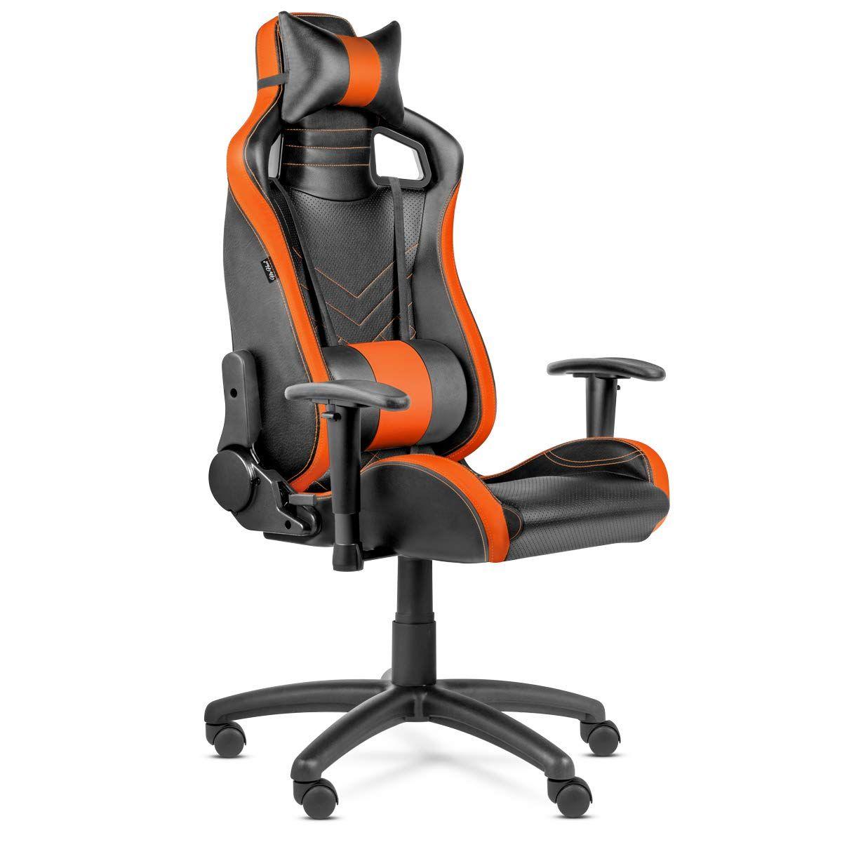 Mchaus Gaming Pro Naranja M Sillas De Oficina Sillas Despacho Reclinable