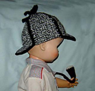 Sherlock Holmes hat pattern by Cathy Ren