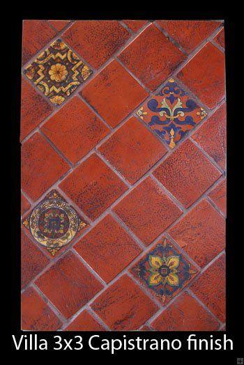 X Villa Layed Diagonally With Field Ken Mason Tile BCIA Tile - 3x3 ceramic wall tile