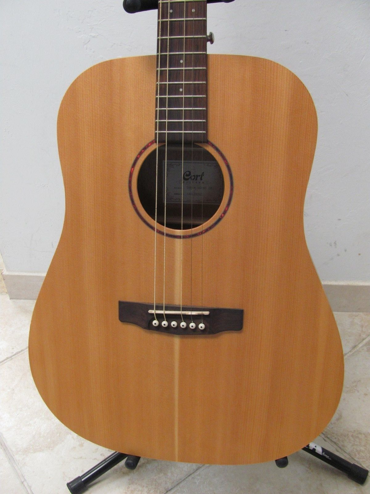 guitar Cort Guitar Earth Grand OP Open Pore Acoustic Guitar Natural