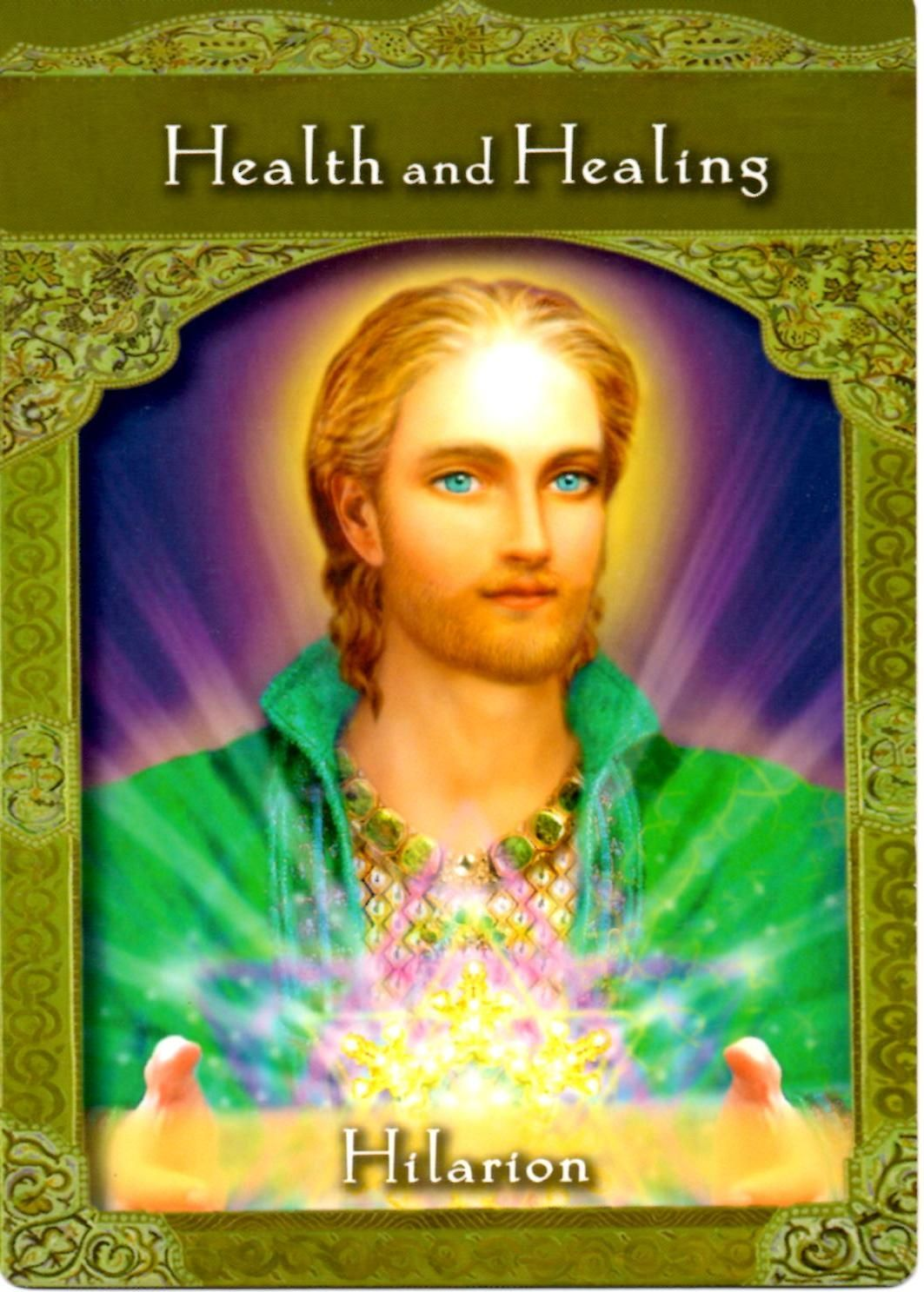saint Hilarion-doreen virtue ascended master cards