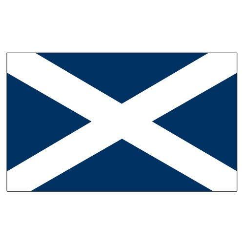 Scotland St Andrew S Cross 3ft X 5ft Printed Polyester Flag St Andrews Cross Cross Flag Flag