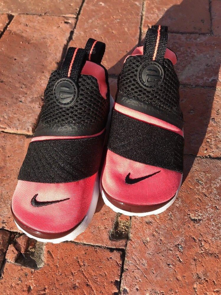 Nike Presto Extreme Running Shoes Black Lava Glow 870021 001 New