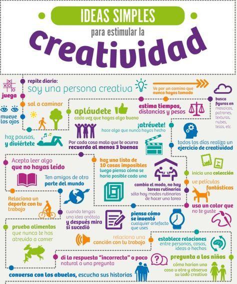 #Ideas simples para estimular la #creatividad #innovacion