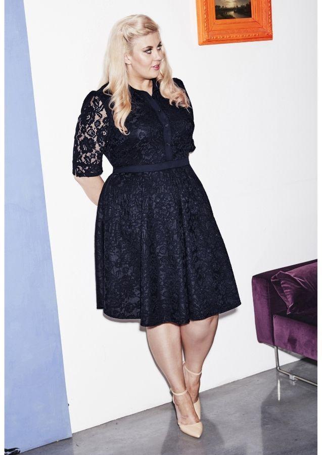 Plus Size Lace Dress Plus Size Fashion Pinterest Lace Dress