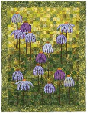 Coneflower Garden Kit At Keepsakequilting Com Flower Quilts Garden Quilt Flower Garden