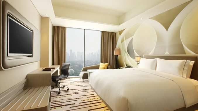 Jakarta 10310 Hotels Doubletree By Hilton Hotel Jakarta Diponegoro Jakarta 10310 Hotel Suite Luxury Hotel Room Design Space Hotel