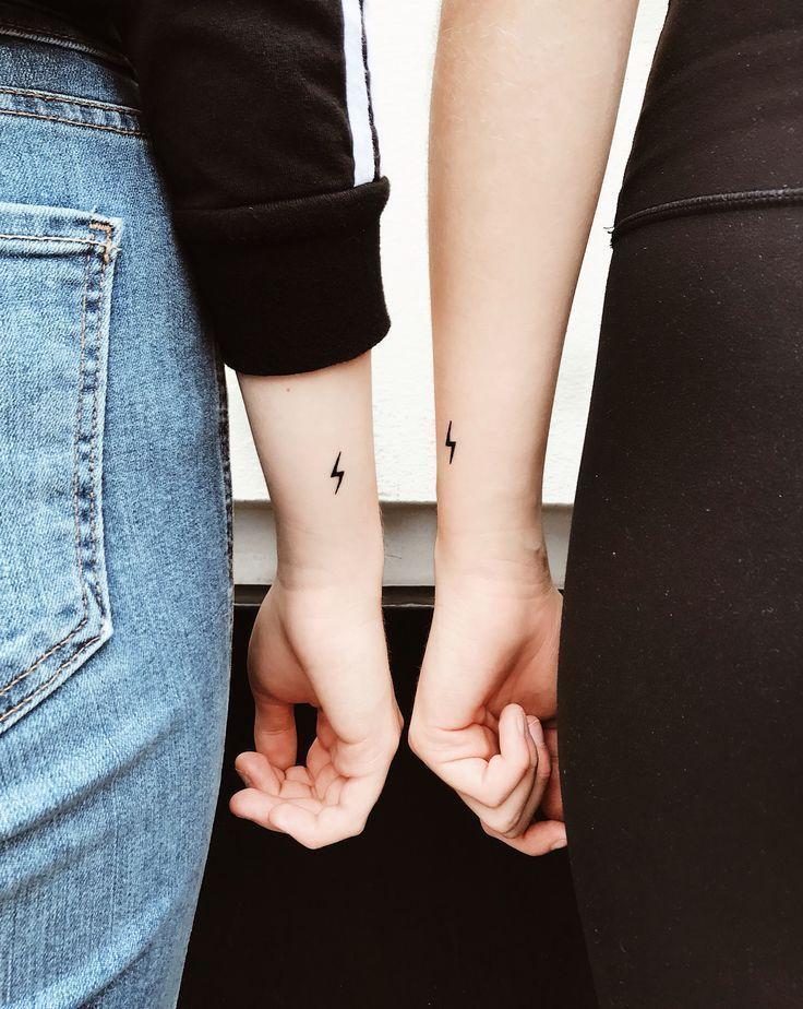 Tatuajes pequeños a juego - #Bestfriendtattoos #Fatherdaughtertattoos #Friendshiptat ... - Welcome to Blog