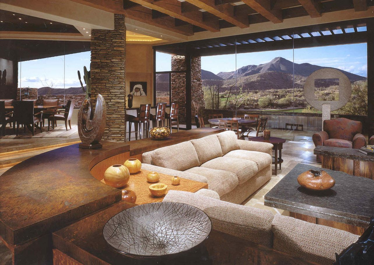 A Beautiful Desert Mountain Home With The Perfect View By