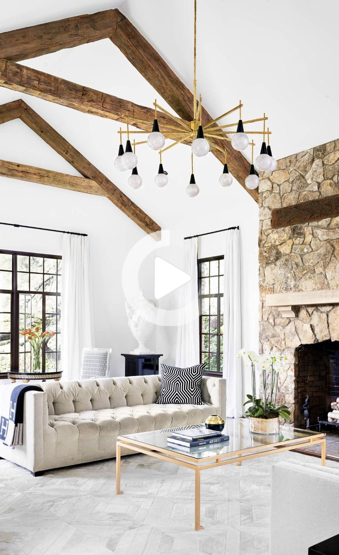 Mediterranean Style Home Living Room Decor With Tufted Sofa Modern Rustic Living Room Farmhouse Style Living Room Decor Country Style Living Room Mediterranean decor living room