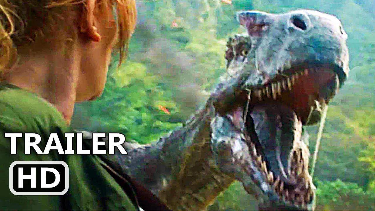 JURASSIC WORLD 2 Official Trailer (2018) Chris Pratt Action