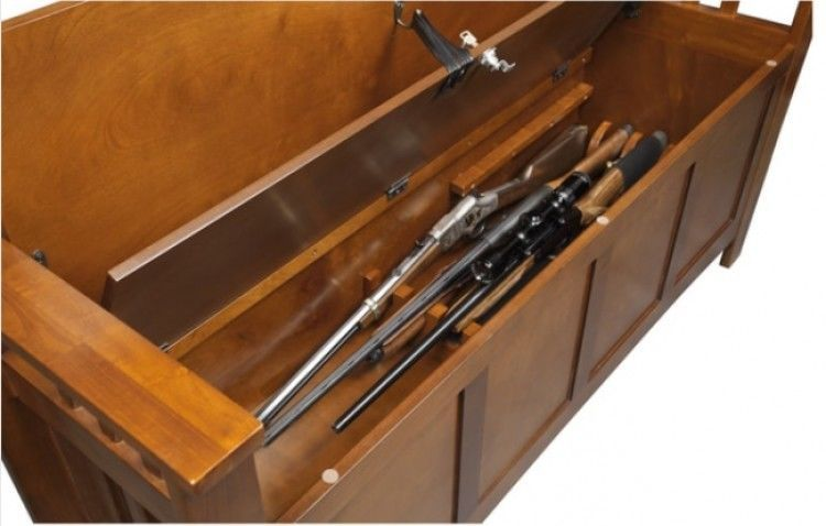 Groovy Details About Bench Gun Concealment Wood Entryway Cabinet Inzonedesignstudio Interior Chair Design Inzonedesignstudiocom