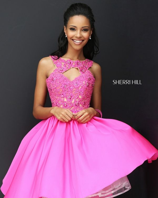 Sherri Hill 50581   Fall 2016 Collection   Pinterest   Rosas y ...